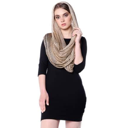 Вязаные снуды, шарфы