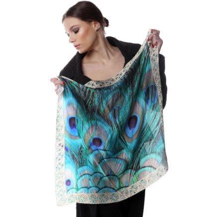 Платки, шарфы с принтом